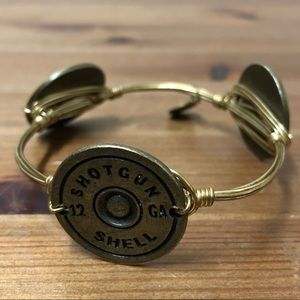 Bourbon & Bowties shotgun shell bangle